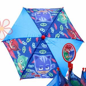 Image Is Loading Pj Masks Kids Umbrella Catboy Owlette Gekko Boys