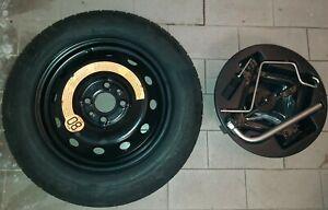 Kit-Ruotino-ruota-di-scorta-Originale-NUOVA-NEW-FIAT-500-500c-135-80r14