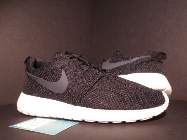 2013 Nike ROSHE RUN ROSHERUN BLACK ANTHRACITE GREY SAIL SAIL SAIL WHITE 511881-010 10.5 6b2ed2