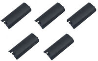 5 X Black Replacment Battery Cover For Nintendo Wii Controller Remote
