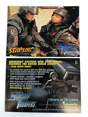 Starship Troopers The Movie Promo Card 0