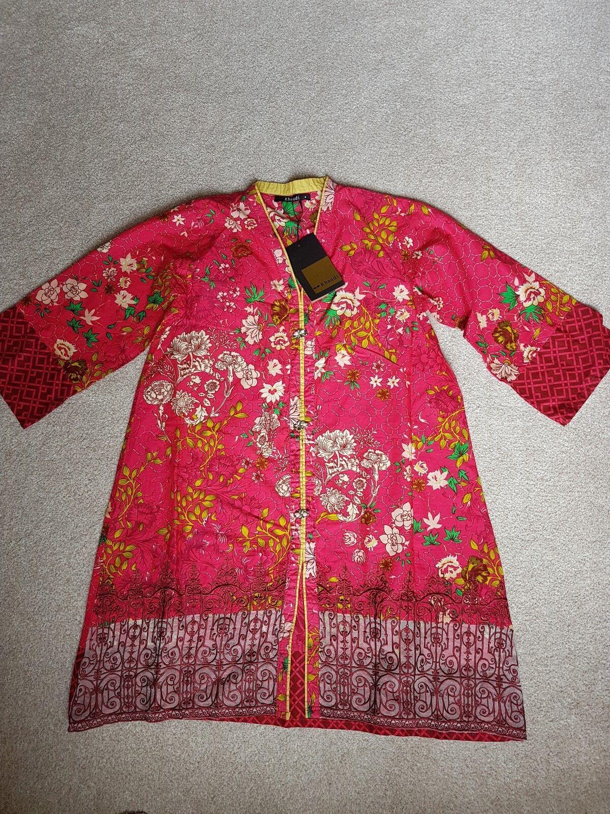 Pink Khaadi Tunic Size 8