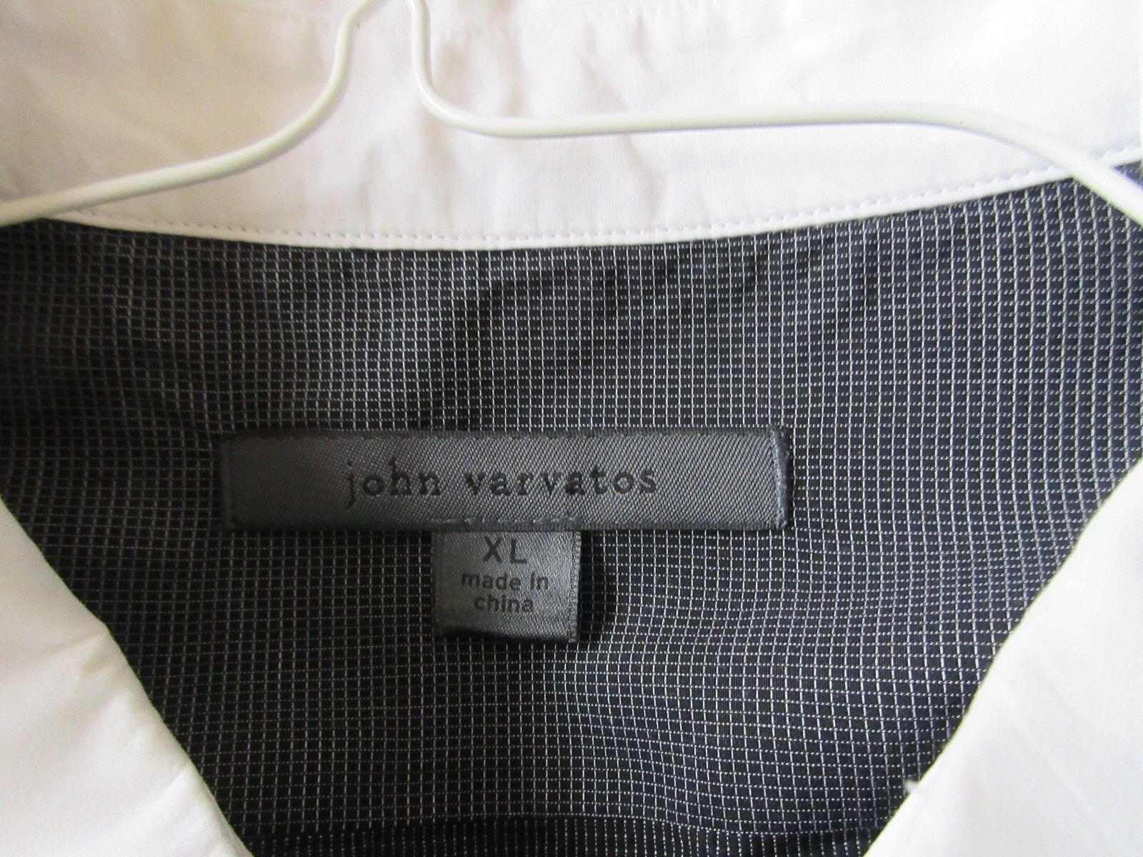 John Varvatos , Long Sleeve Men's Shirt , XL , 100% Cot