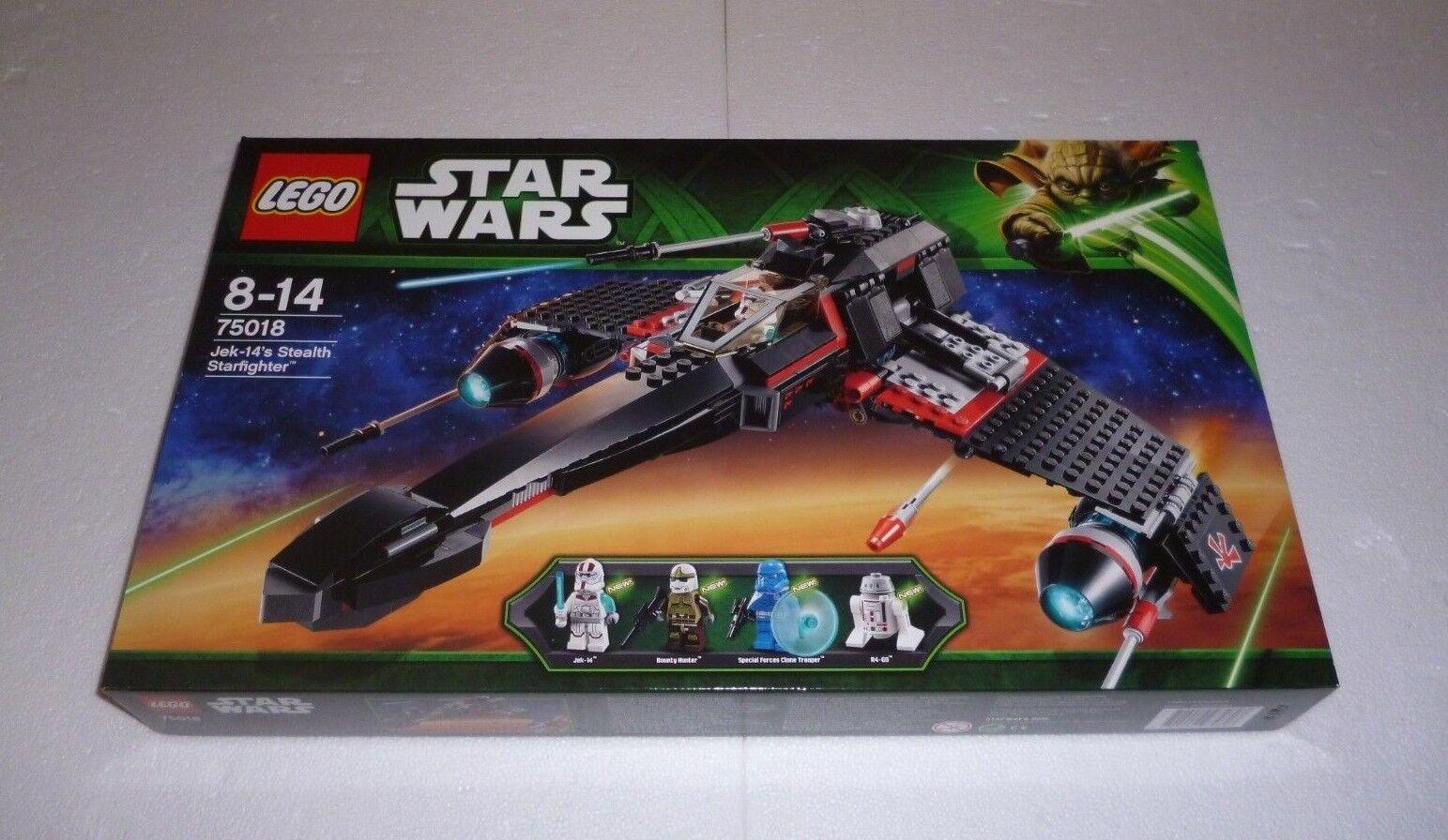 Lego star wars jek-14's stealth starfighter starfighter starfighter (75018) NEUF/NEW, NEUF dans sa boîte | à Gagnez Un Haut Admiration  b5211b