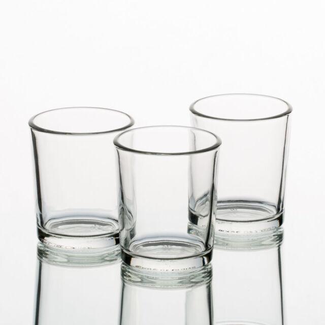 Eastland Votive Candles Holders Crystal Clear Set of 72 Premium ...