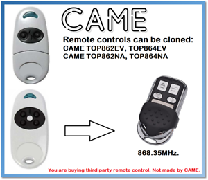 Télécommandes Dickert mt87a3-868a04k00 4 Canal remplace Weller ALULUX Roma 868,5 MHz