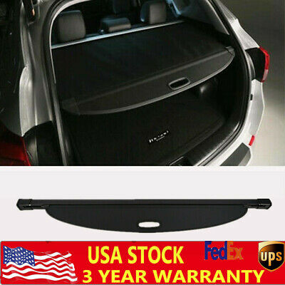 Fit For Hyundai Tucson 2016-2019 Retractable Rear Black Trunk Cargo Shade Cover