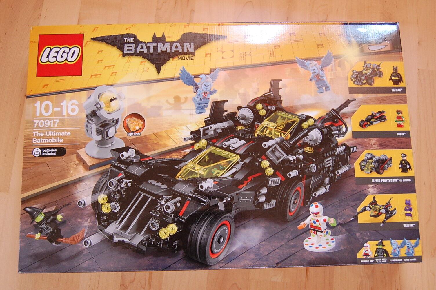 LEGO Batman Movie 70917 Das ultimative Batmobil Neu OVP