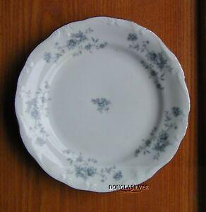 JOHANN-HAVILAND-BLUE-GARLAND-CHINA-6-1-4-034-BREAD-amp-BUTTER-PLATE-S