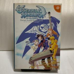 Skies of Arcadia Visual Art Book Eternal Rare DC Japanese ver