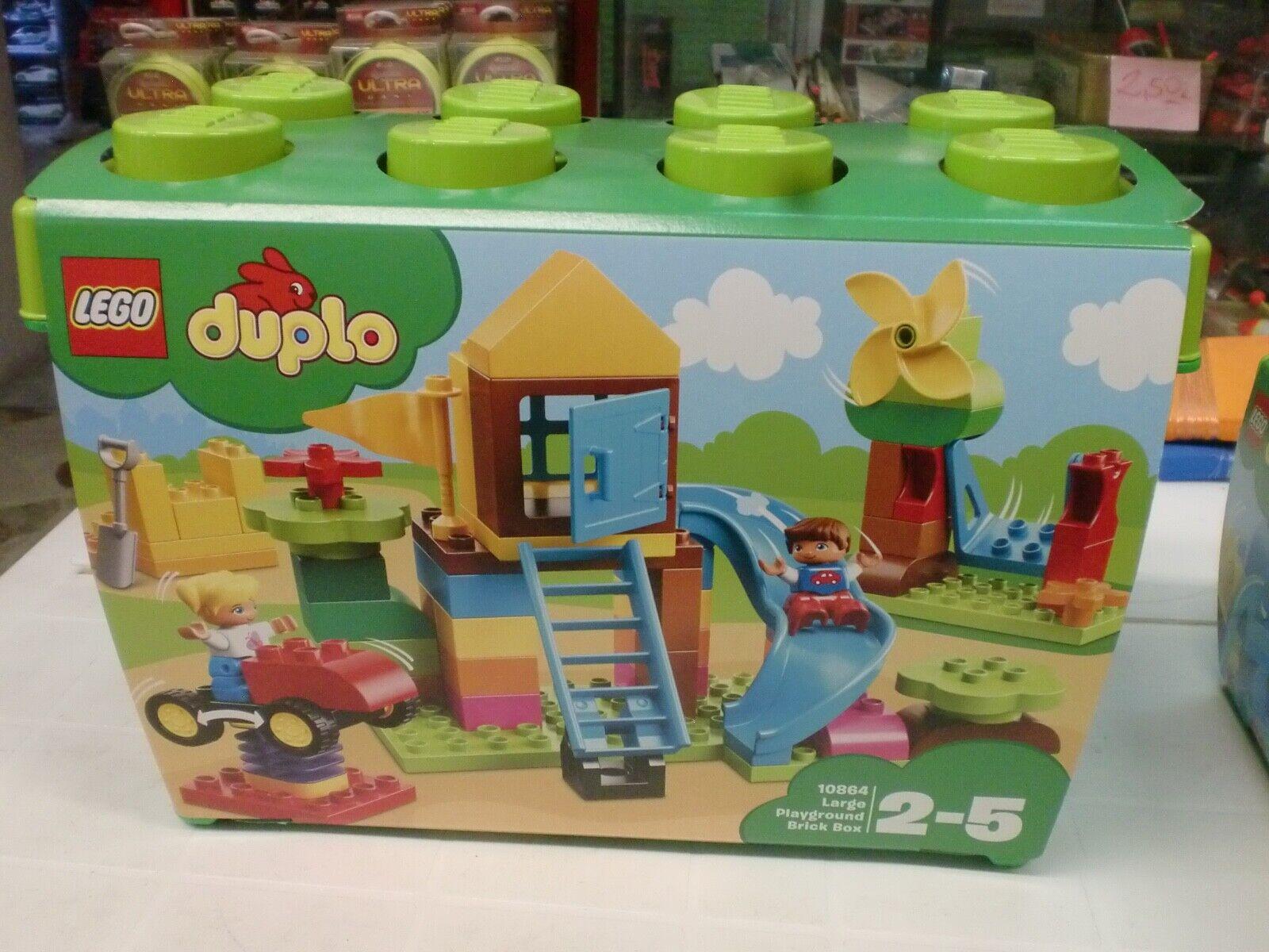 LEGO 10864 - la gree scatola  di mattoncini - SERIE DUPLO  prendiamo i clienti come nostro dio