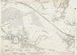 Calverley-Horsforth-W-Yorkshire-old-map-repro-202-10-1934