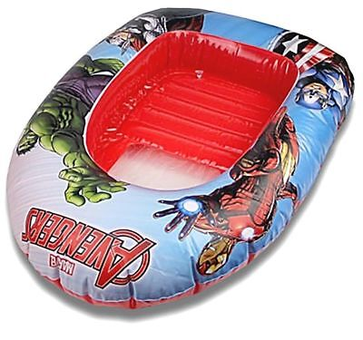 Floats & Rafts Marvel Avengers Inflatable Dinghy /boat 102 X 69cm Diversified In Packaging Yard, Garden & Outdoor Living