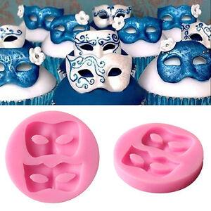 3D Eye Mask Silicone Mold Fondant Cake Decorating ...