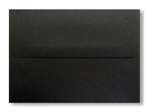 Jet Black Envelopes for Greeting Cards Invitation Response Shower Halloween