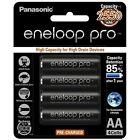 Panasonic Eneloop Pro AA 2550mAh NiMH High Capacity Rechargeable 4 Pack Battery