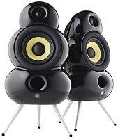 Podspeakers Smallpod Bluetooth Black Wireless Active Speakers (pair) on Sale