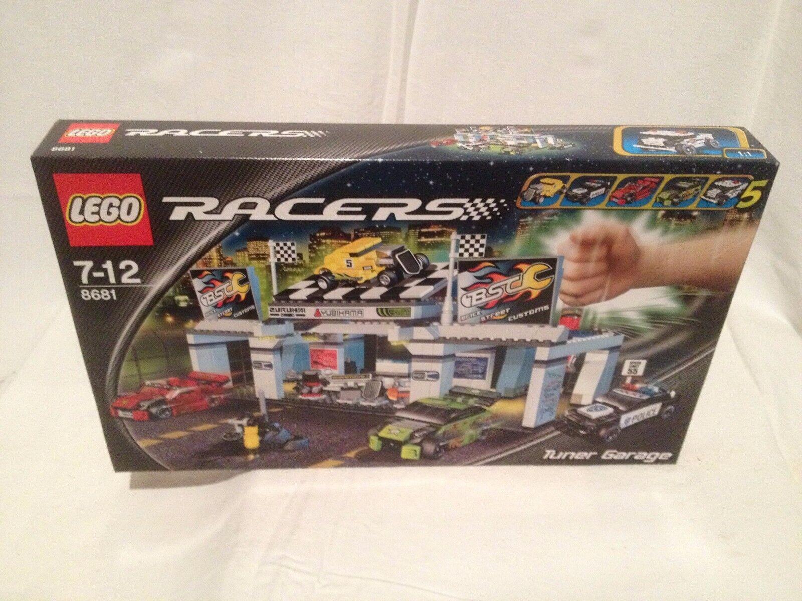 Lego Racer 8681 Tuner Garage NEUF 1 édition