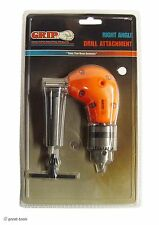 Angle Drill Attachment Power Tool Tools Drills 90 Degree Drilling Right Angle