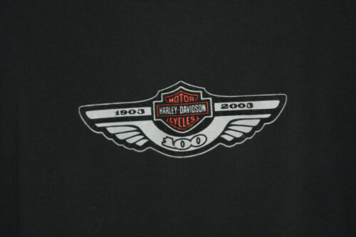 Zwart Shirt 100stretch 3 Harley katoenmix 4 Davidson mouw Xl Lange otdrBshQCx