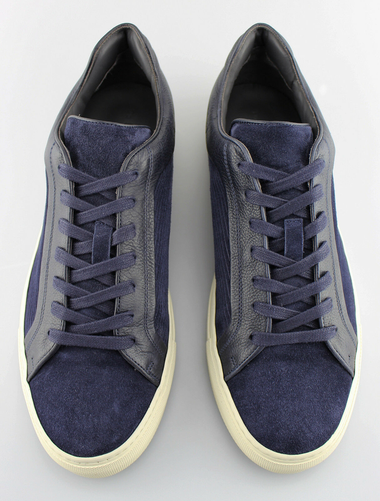 Men's TO BOOT BOOT TO NEW YORK 'Marshall' Blue Leather/Suede Sneakers Size US 10.5 - D bc22a0