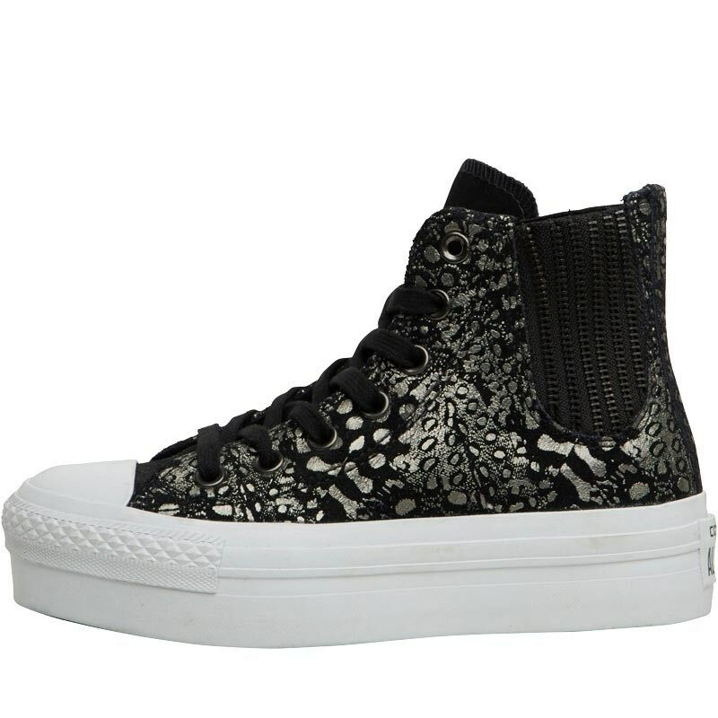 Converse Womans CT All Star UK Hi Platform Chelsea Trainers, UK Star 4.5 EU 37, BNIB f30587