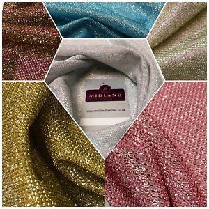 Sunshine Spangle Glitter Jersey Mesh Dress Fabric 55 Wide Me1020 Mtex Ebay