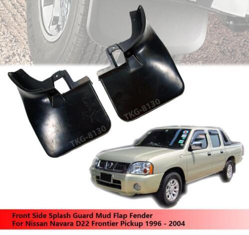 Front Splash Guard Mud Flap For 2WD Nissan Navara Frontier D22 1996-2004
