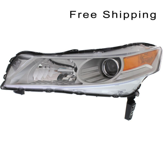 HID Head Lamp Lens And Housing Driver Side Fits 2009-2011