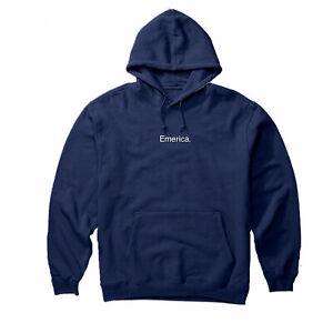 Details zu Emerica Skateboard Sweatshirt 8 Ballr Hoodie Navy