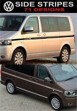 VW t5 Volkswagen t5 transporter caravelle side stripes decals stickers