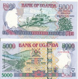 Uganda-109-5000-Shillings-2009-UNC-Pick-44d