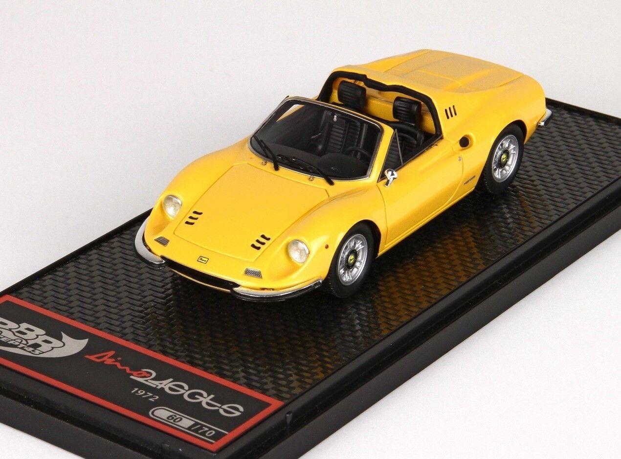 BBR - DINO FERRARI 246 GTS - giallo - BBR BBRC54B - 1 43