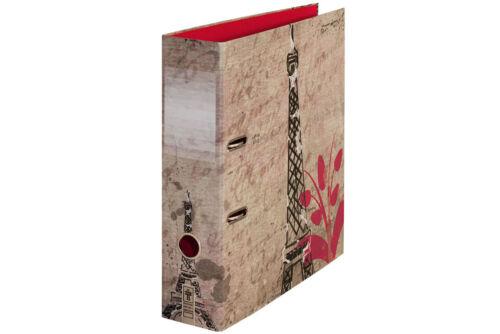 """Motivordner Ordner Aktenordner  DIN A4 80 mm /""""La vie à Paris/"""" I Eiffelturm"""