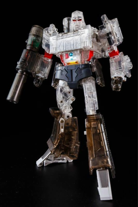 Transformers Toy THF-03T Dynastron Megatron Mp Scale Action Figure Clear ver.