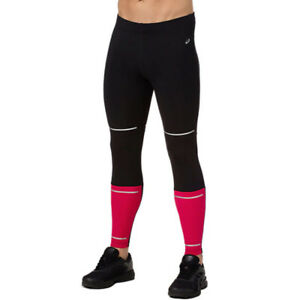 Asics Hombre Lite-show Correr Mallas Pantalones Negro Deporte Entrenar Running