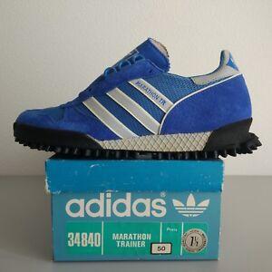 sale retailer 436f8 9ea2b Image is loading Adidas-Marathon-TR-US-7-5-Vintage-Made-