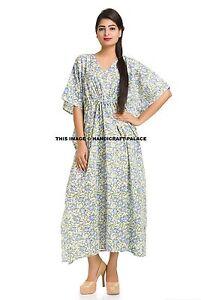 3c07e0f9e16 Women s Boho Caftan Kimono Sleeve Kaftan Cocktail Maxi Dress Plus ...