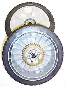 OEM-Lawn-Mower-Rear-Wheel-Set-2-Honda-Mowers-HRB-HRR-215-216-217-HRT216