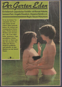 Ronni Valente Leonora Fanni The Garden Of Eden Rare East German Small Poster Ebay