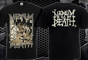 77daa83eb NAPALM DEATH Harmony Corruption -NEW T-SHIRT MEN'S-DTG PRINTED TEE ...