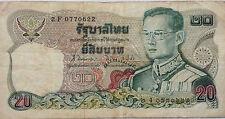 Thailand 20 Baht 2F 0770622