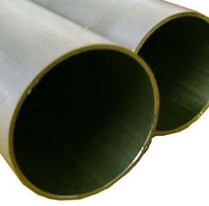 """Aluminum Round Tubing - 2.00"""" OD x .050"""" x 72"""" Long NEW - High Quality Extruded"""