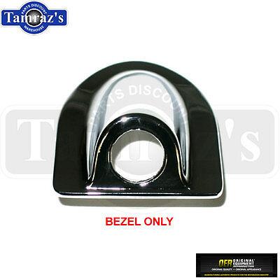 70-73 Camaro Trunk Deck Lid Lock Chrome Bezel Housing Trim Surround