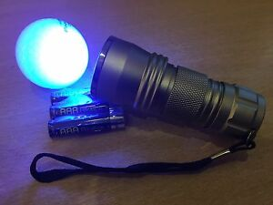 Golf Ball Finder Torch   21 Leds  2 FOR 15   FREE BATTERIES - <span itemprop=availableAtOrFrom>STOKE, Staffordshire, United Kingdom</span> - Golf Ball Finder Torch   21 Leds  2 FOR 15   FREE BATTERIES - STOKE, Staffordshire, United Kingdom