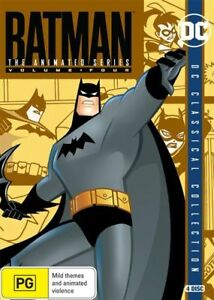 DC-The-Batman-Animated-Series-Vol-2-DVD-4-Disc-Set-Region-4-VGC