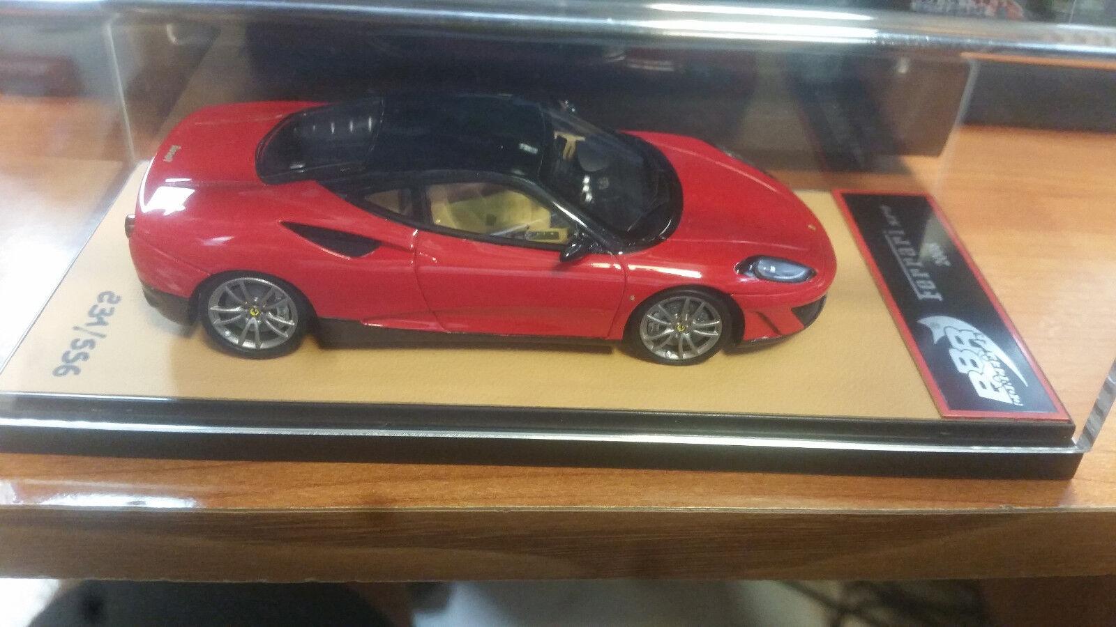 Ferrari SP1 2008 rojo Leather Base 1 43 lim.ed.556  pcs BBRC06A BBR