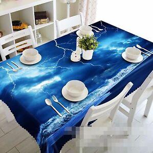 3D-Lightning-Tablecloth-Table-Cover-Cloth-Birthday-Party-AJ-WALLPAPER-UK-Lemon