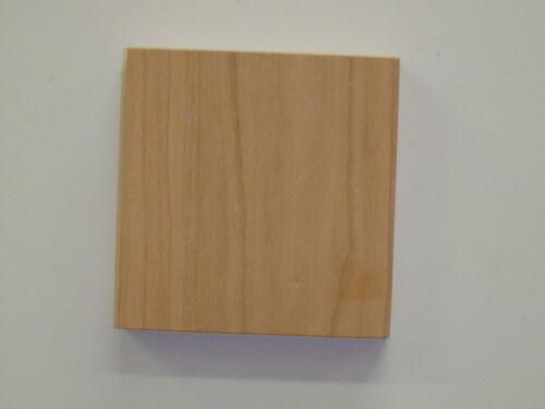 2 Piece Minute Molding Classic Plastic Block Rosette for Interior Doors and Windows 2-3//4 in. 83051