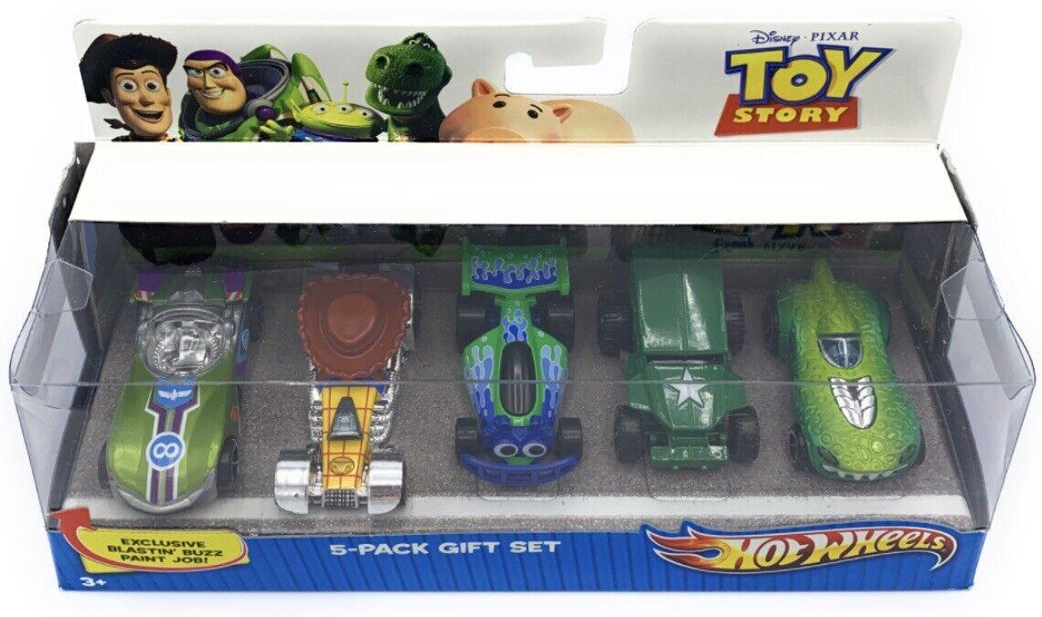 caliente ruedas - giocattolo storia V985 (2010) - 5 Pack Gift Set -- Collectible -- - &B Rare - NIB